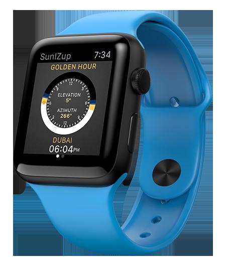 SunIZup on Apple Watch