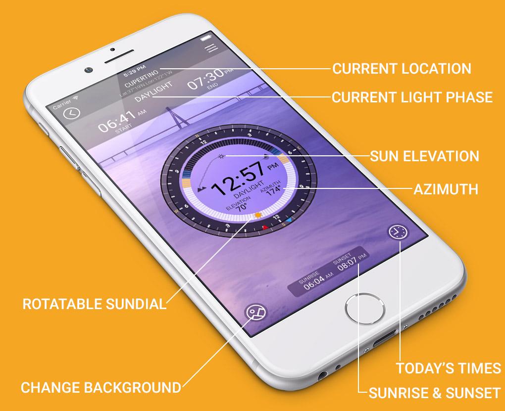 SunIZup - Golden Hour Photography App